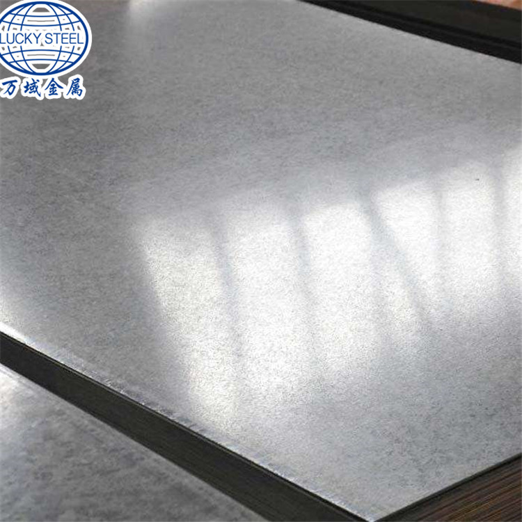 24 Gauge 1mm Thick Galvanized Gi Steel Sheet China Lucky