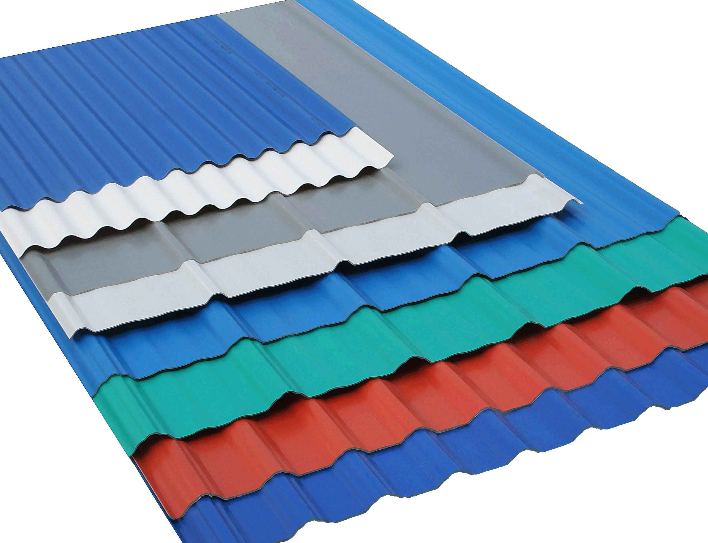 Galvanized Steel Corrugated Roof Sheets Corrugated Aluzinc Steel Sheets China Lucky Steel Co Ltd